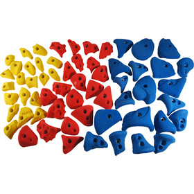 Ergoholds School Pack Mix Chwyty wspinaczkowe Chwyty 60 szt., mixed colors